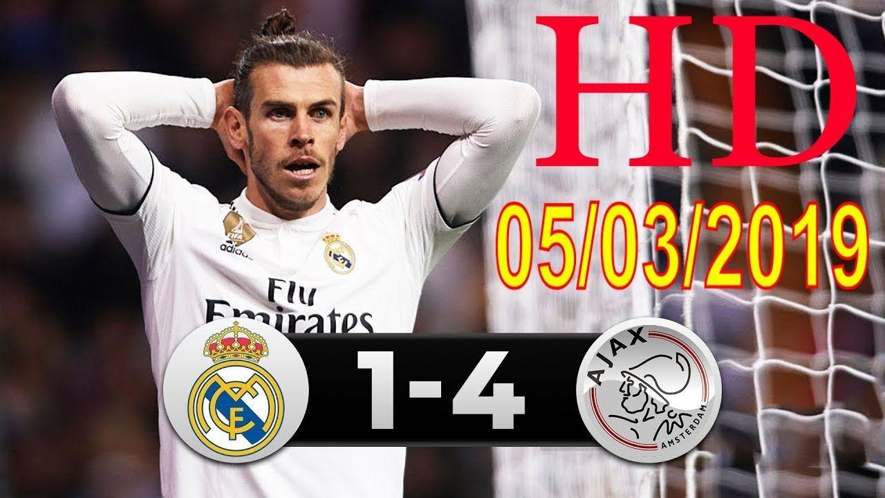 real madrid vs ajax 14 ALL Goals Champions League 05/03/2019