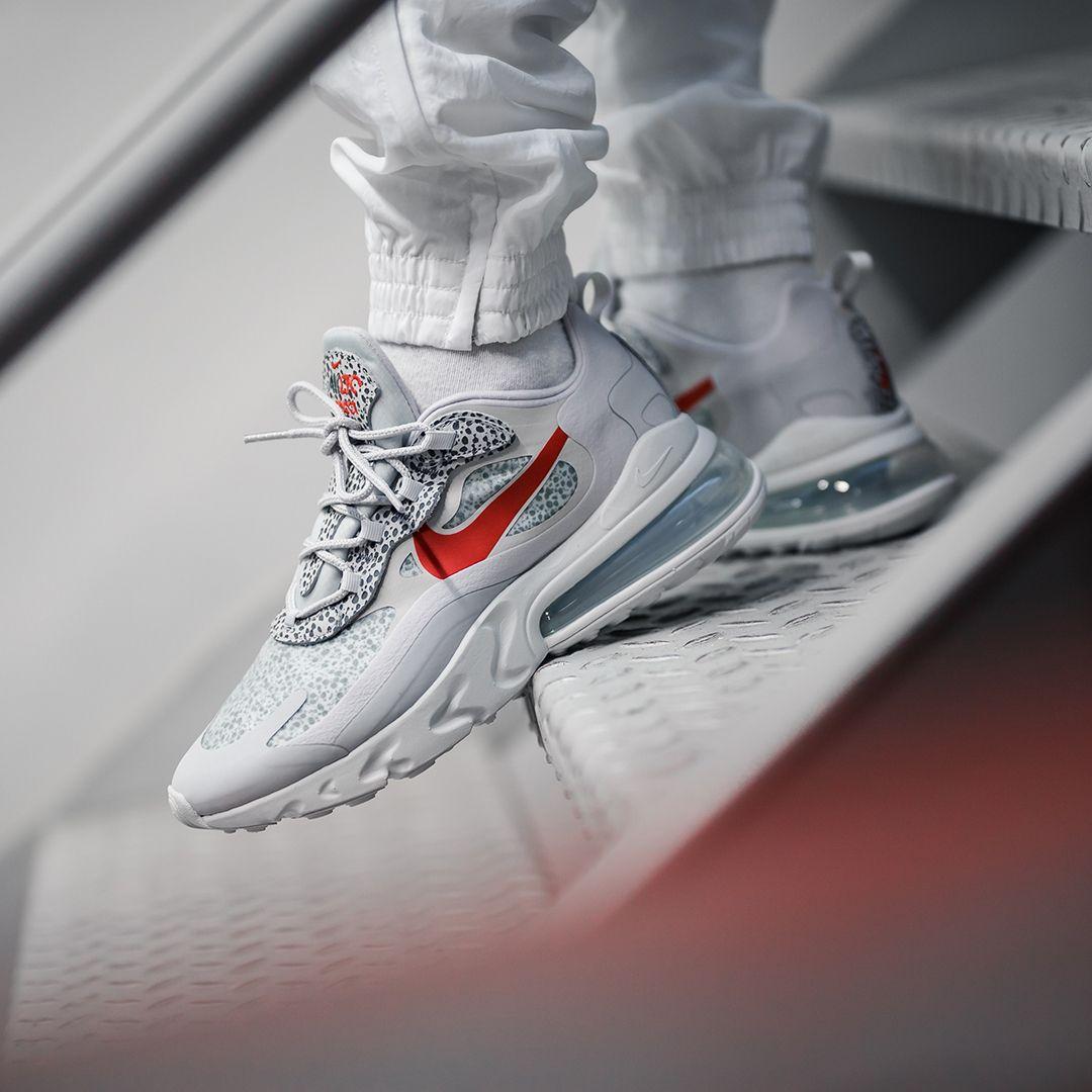 Nike Air Max 270 React In Grau Ct2535 001 Nike Air Schuhe Nike Air Max Und Fitness Schuhe