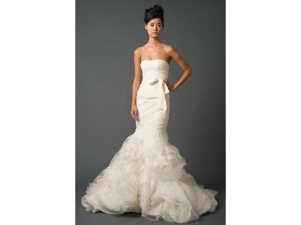 Wedding dresses used  Vera Wang Gemma  Size   Used Wedding Dresses  Bridal