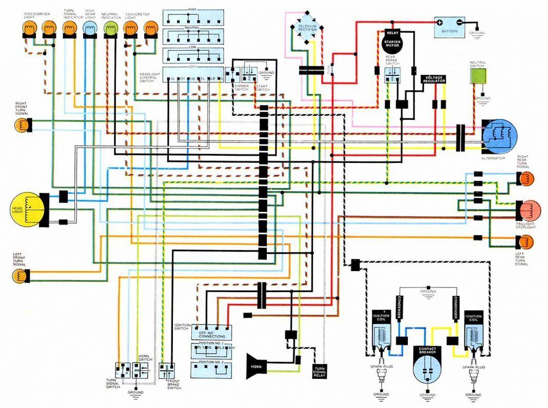 Wiring Diagram Of Motorcycle Honda Xrm 125 Cb450 Wiring Diagram Of Motorcycle Honda Xrm 125 Bacamaja In 2020 Diagram Design Electrical Wiring Diagram Motorcycle Wiring