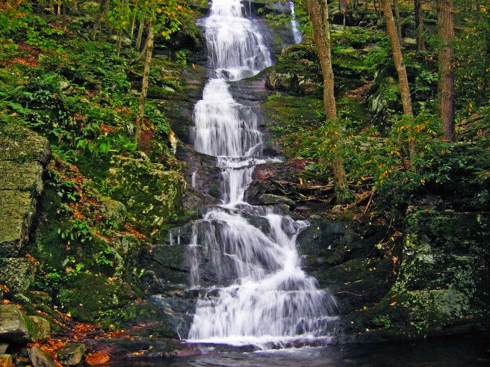 These 11 Hidden Waterfalls In New Jersey Will Take Your Breath Away Scenic Road Trip Waterfall Scenic Roads