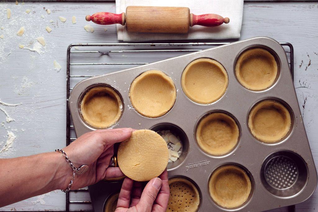 Das perfekte Rezept für knusprige Mürbeteig Tartelettes auf Vorrat