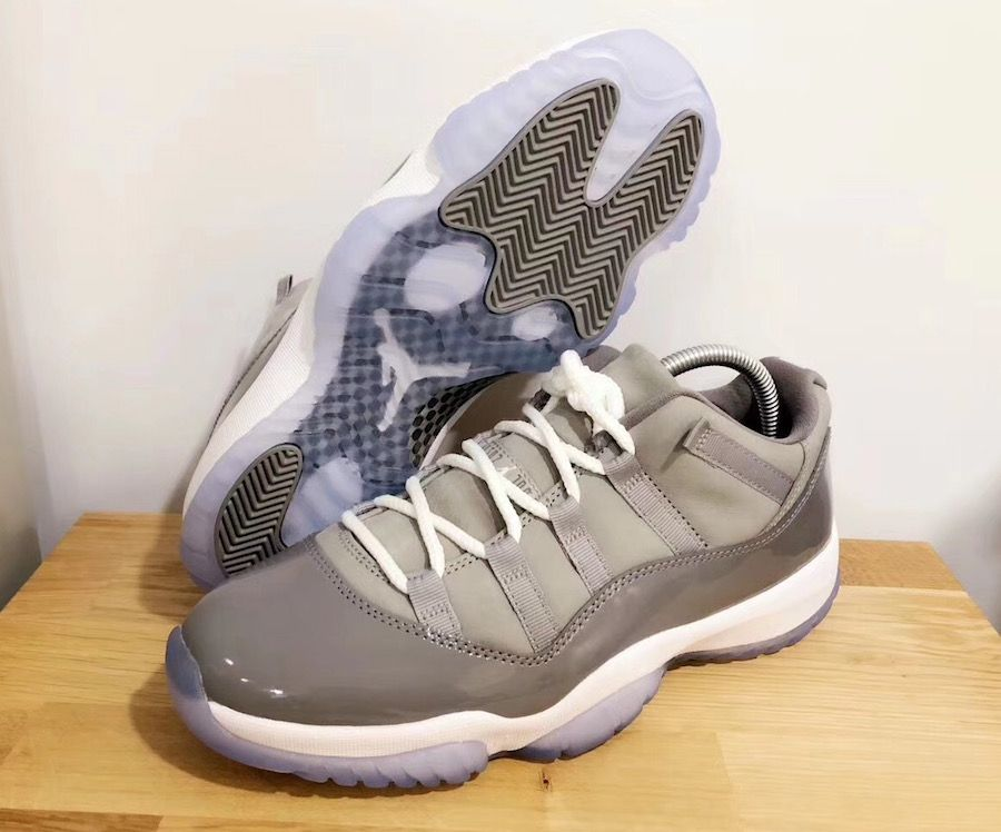 9c709f57cb05f4 Will The Air Jordan 11 Low Cool Grey Be Welcomed With Open Arms ...