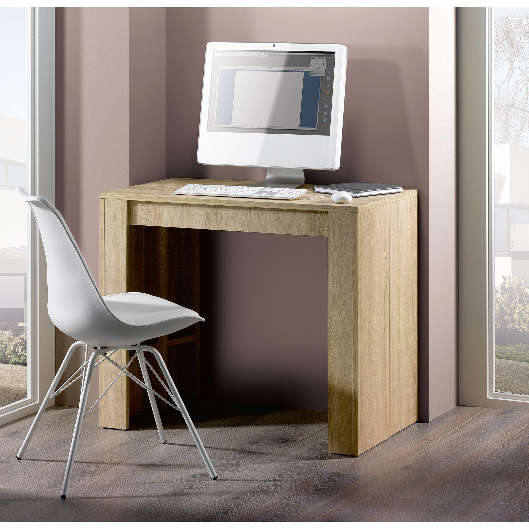 Table console extensible avec rallonges jusqu  223 ou 270cm
