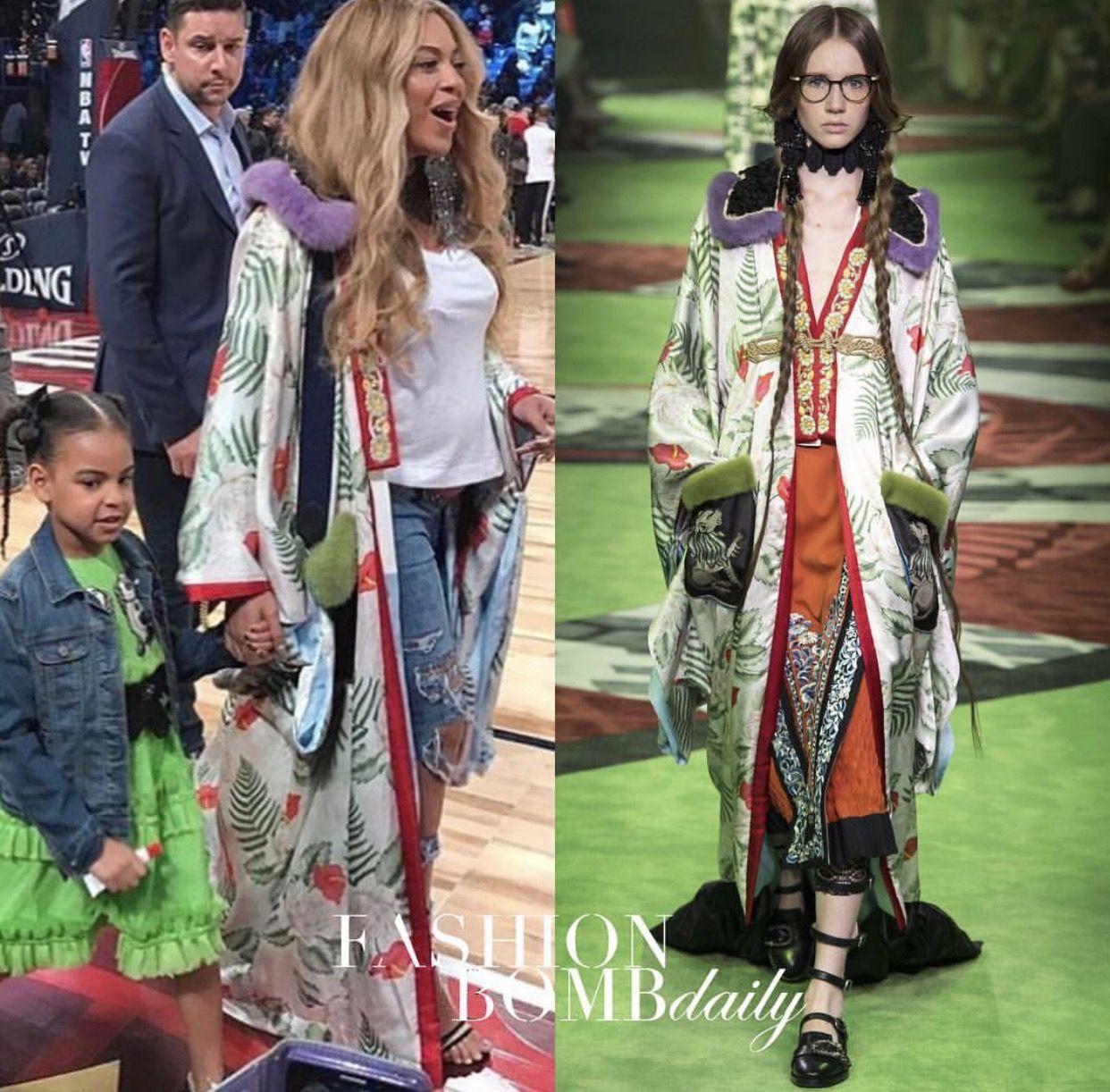 fc4cfcd31 Beyoncé rocks Gucci! Boho, Bohemian Look, Gucci Kimono, Fabric Design, Dress