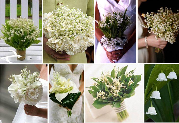 Buchete De Mireasa Din Lacramioare Wedding Lily Of The Valley
