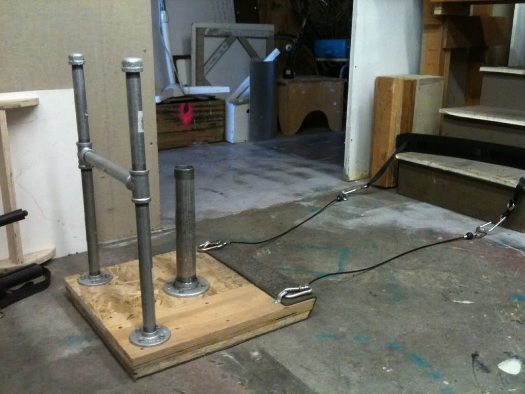 Homemade prowler fitness pinterest at home gym