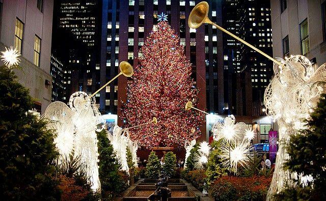 L'albero di  natale più famoso del mondo...
