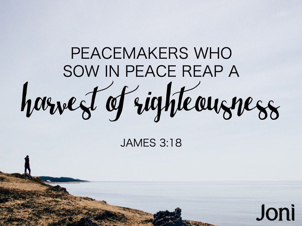 Peacemaker Quotes Peacemakers Who Sow In Peace Reap A Harvest Of Righteousness .
