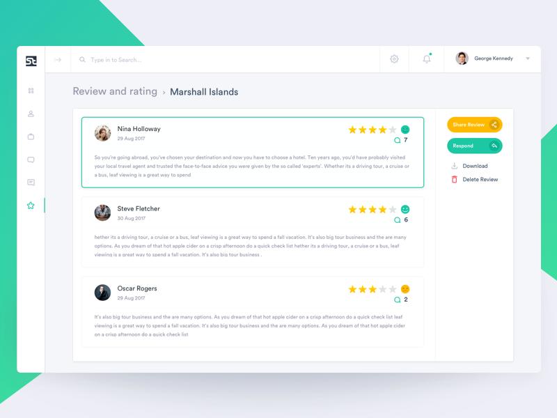Admin Panel Reviews Admin Panel Web App Design Web Design