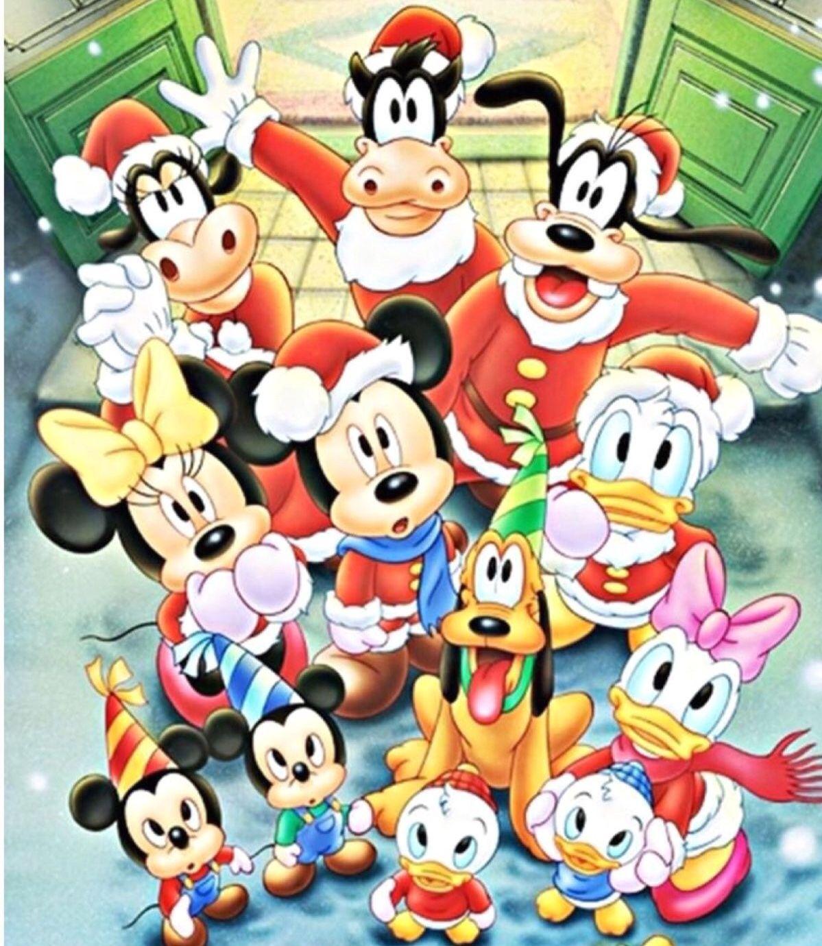 Les Vedettes De W Disney Mickey Mouse Minnie Donald