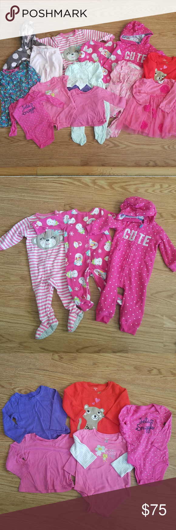 344932b8df4a Lot of Baby Girl Clothes 9 - 12 months in 2018
