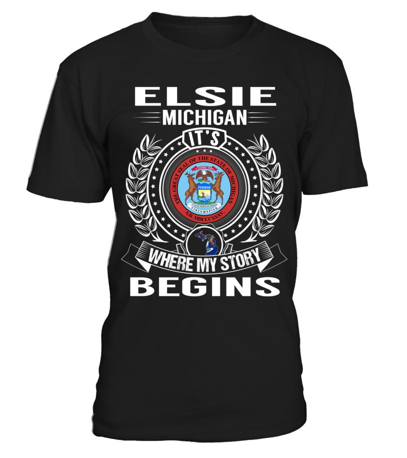 Elsie, Michigan - My Story Begins