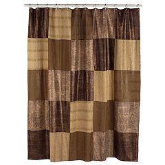 Access Denied Fabric Shower Curtains Primitive Shower Curtains