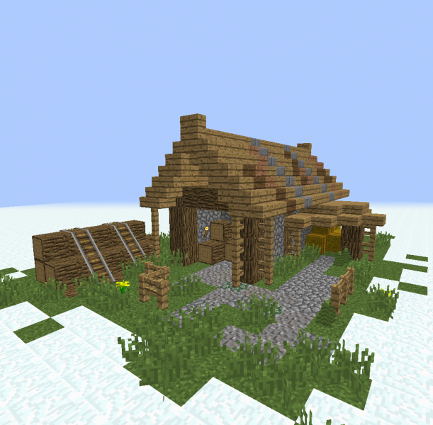 Lumberjack Shack Album Minecraft Houses Minecraft Medieval