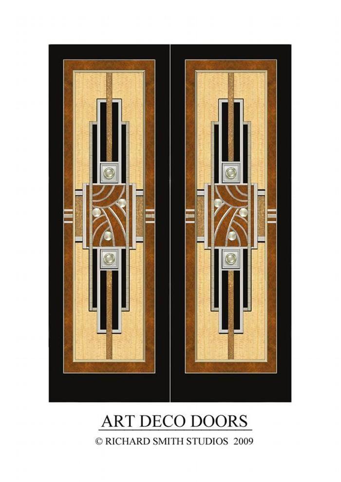 Art Deco Doors  sc 1 st  Pinterest & Richard Smith Studios....Art Deco Doors | Art Deco | Pinterest ... pezcame.com