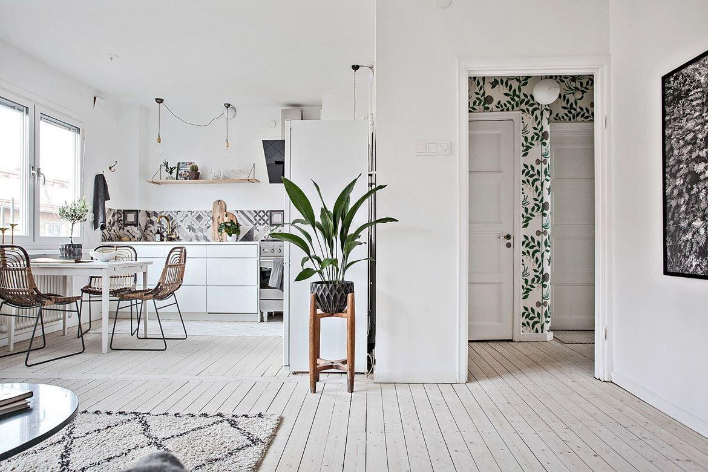 Foyer Foliage Wallpaper Kovriki Dlya Gostinoj Interer Domashnie