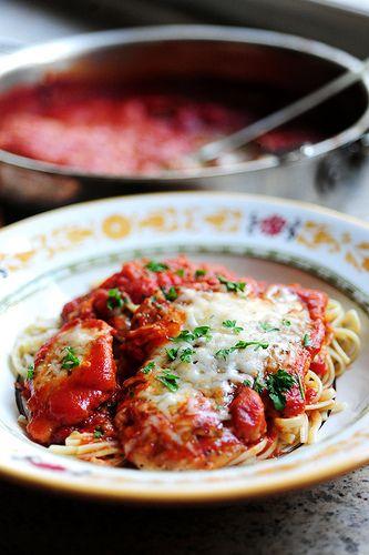 Chicken Parmigiana Recipe Adventures In Cooking Pinterest