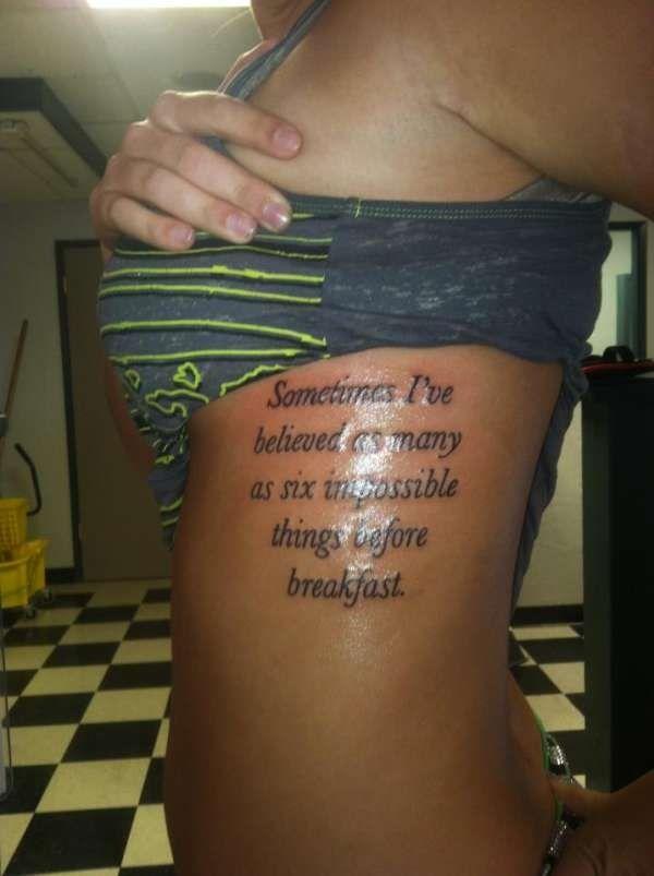 Tattoo Quote Ideas Tattoo Quotes Tattoos Wonderland Tattoo