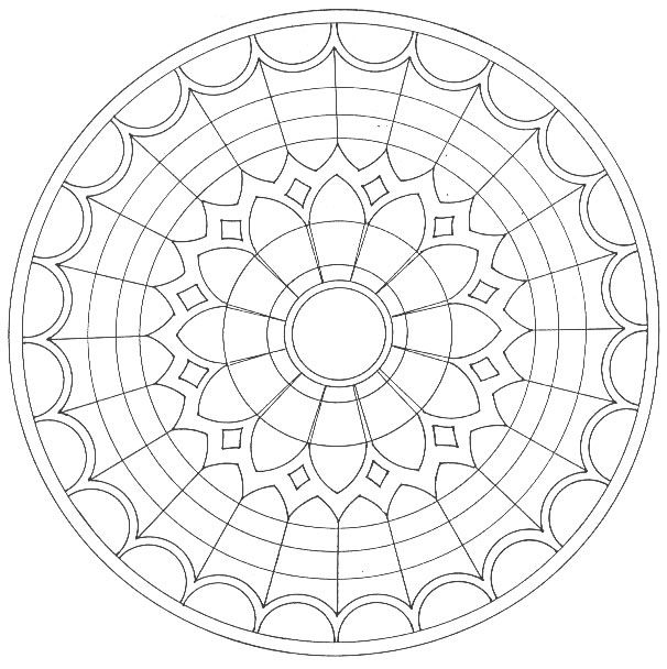 Imagini Mandala Mandalas De Colorat Desene Imagini De
