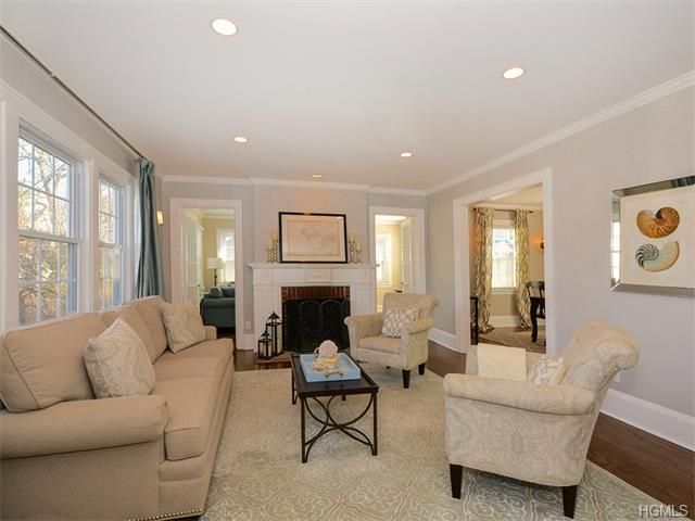 12 Bronson Avenue Larchmont Ny 10538 Recessed Lighting Living Room Living Room Lighting Living Room Remodel
