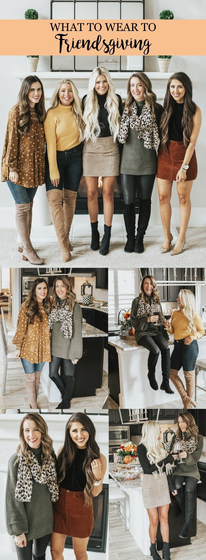 Friendsgiving: What to Wear, Tablescape Decor & Hostess Gifts | It's All Chic to Me | Houston Fashion Blogger | Style Blog