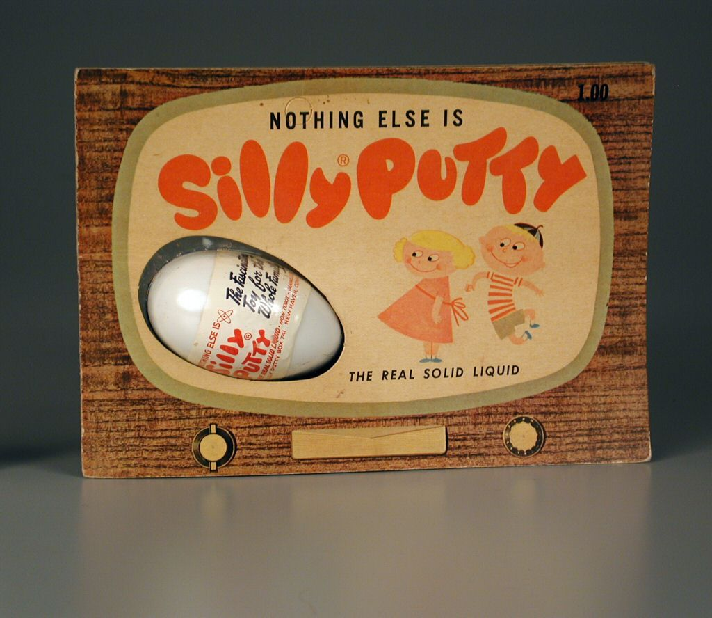 vintage silly putty