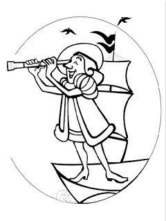 Recursos Para Educacion Infantil Dibujos De Cristobal Colon Paginas Para Colorear Paginas Para Colorear Para Ninos Cristobal Colon