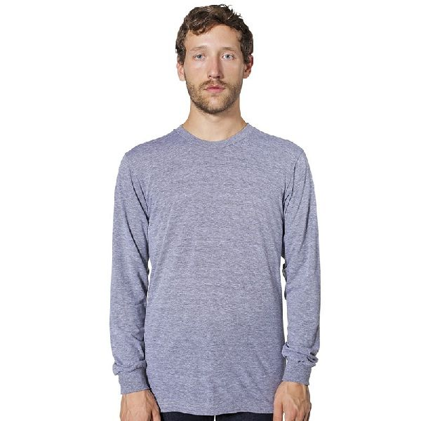 01b7208f6c The AA011 Tri-Blend T-Shirt by American Apparel is a long sleeve top ...