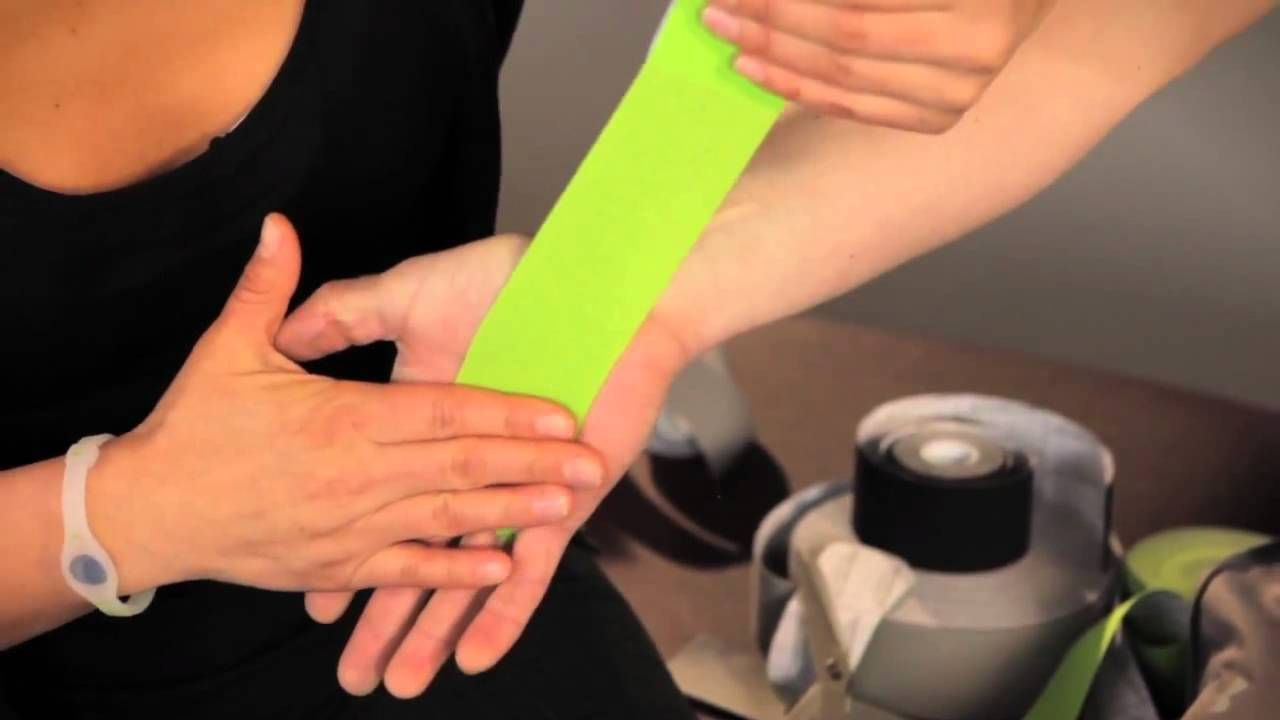 CARPAL TUNNEL SUPPORT -hep2go, via YouTube. | Kinesiology ...