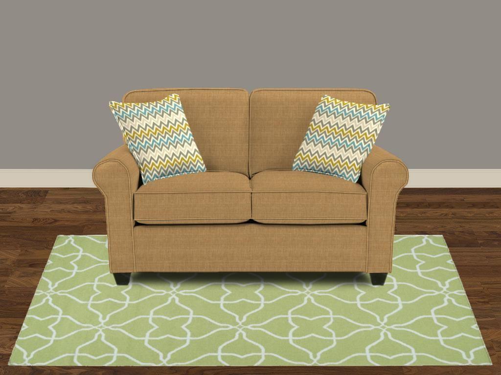 Bassett Living Room Loveseat   Furniture Showcase   Stillwater, OK