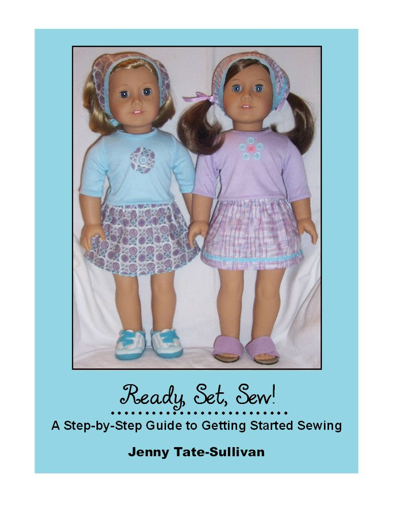 American Girl Sewing Pattern And Guideready Set Sew Free Guide