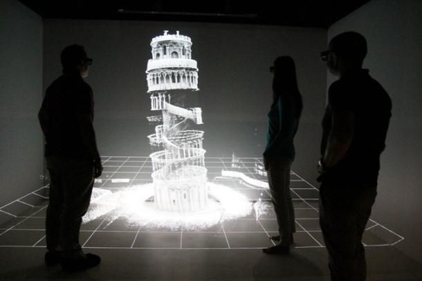 Leaning Tower of Pisa 3D-mapped with handheld laser | 3D