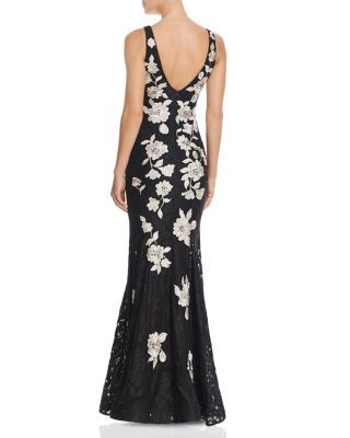b1268c13 Avery G Floral Embroidered Lace Gown | Bloomingdales's | Cocktail ...