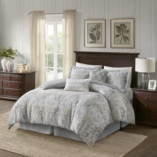 Hallie Cotton 6 Piece Comforter Set Comforter sets