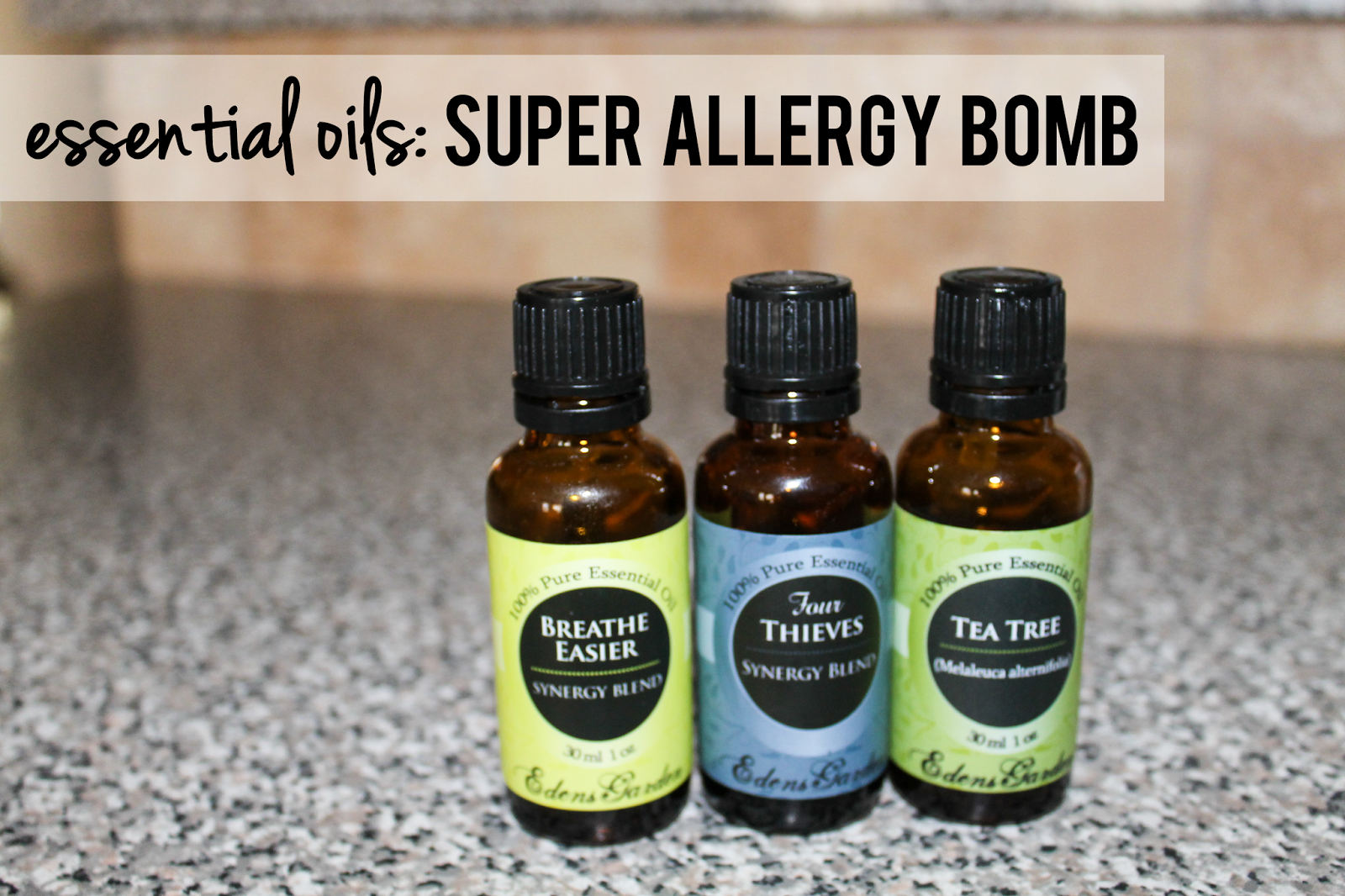 essential oils for cold, cough, runny nose, allergies