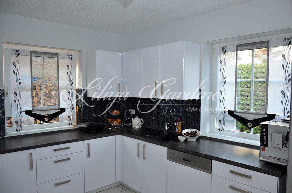 Küche \ Bad « Gardinen Liliya kitchen Pinterest - gardinen für badezimmer