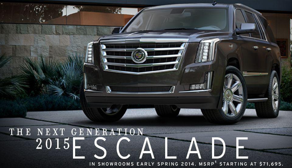 Pin on 2015 Cadillac Escalade
