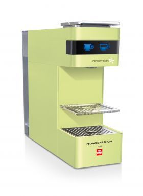 Illy Francis Francis Y3 Lime Green from illy | WOW Tech | Pinterest ...