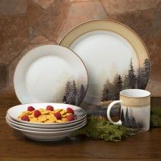 Misty Forest Dinnerware Set Beautiful Enough For Any Decor