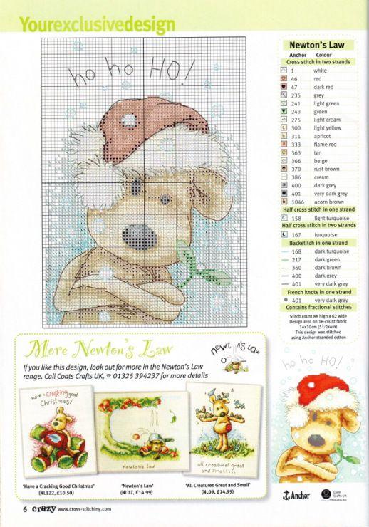 Newton Christmas | PUNTO CRUZ | Pinterest