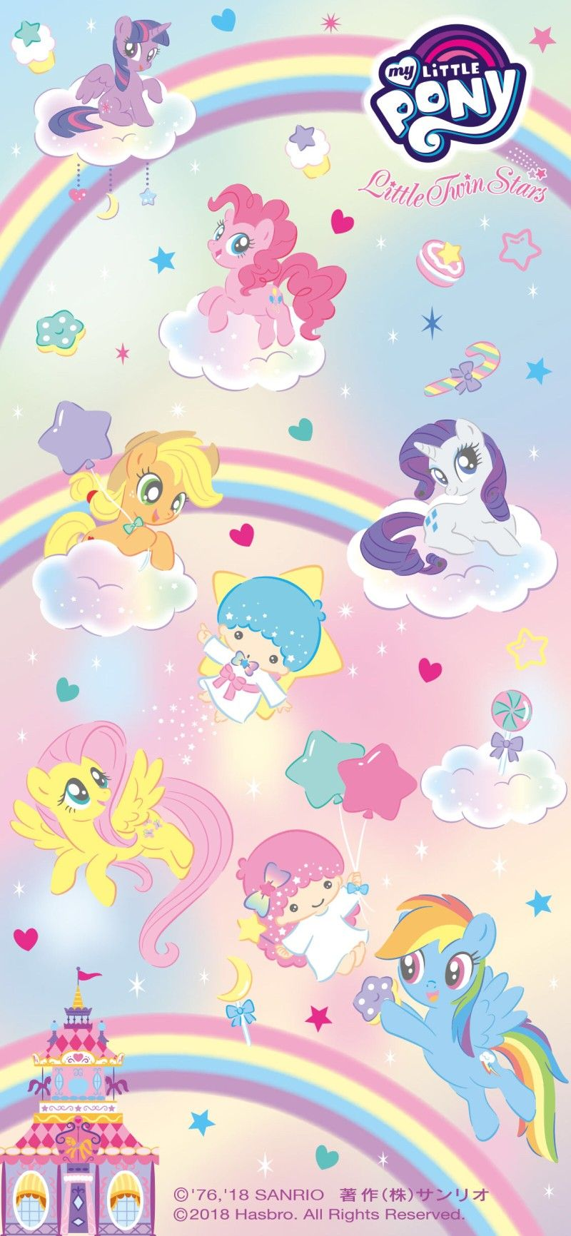 Pin By Sarah Jean Maurer On My Little Pony My Little Pony Wallpaper Unicorn Wallpaper Cute My Little Pony Collection