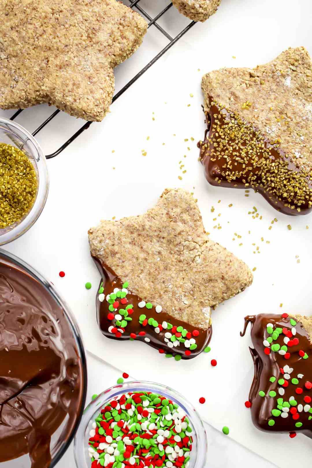 Cinnamon Stars Zimtsterne Are Classic German Christmas Cookies
