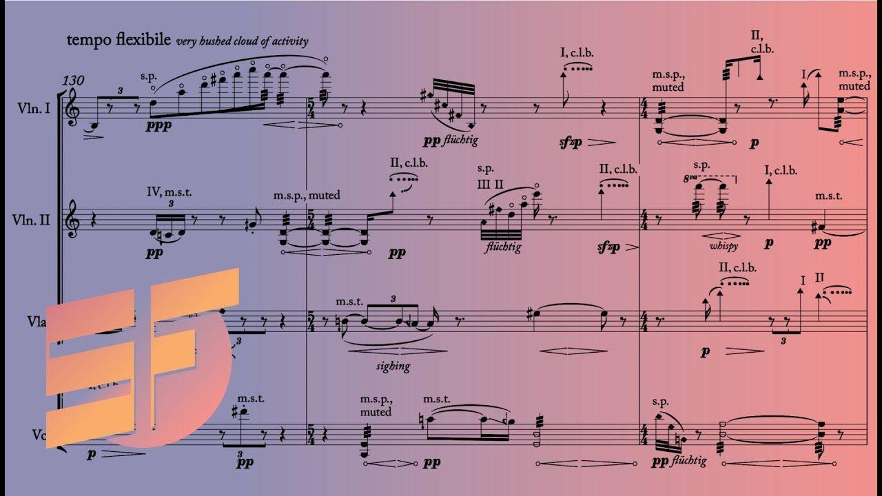 Katherine Balch Drip Music W Score In 2021 Music Katherine Scores