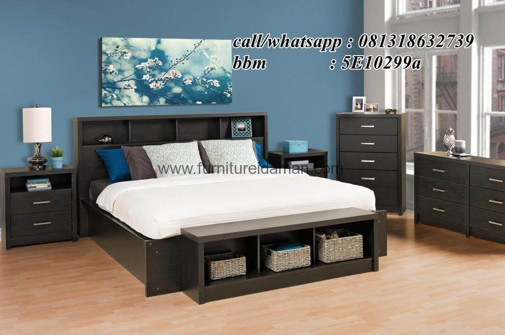 Set Tempat Tidur Minimalis Serba Guna SKI 10furniturejeparadipan