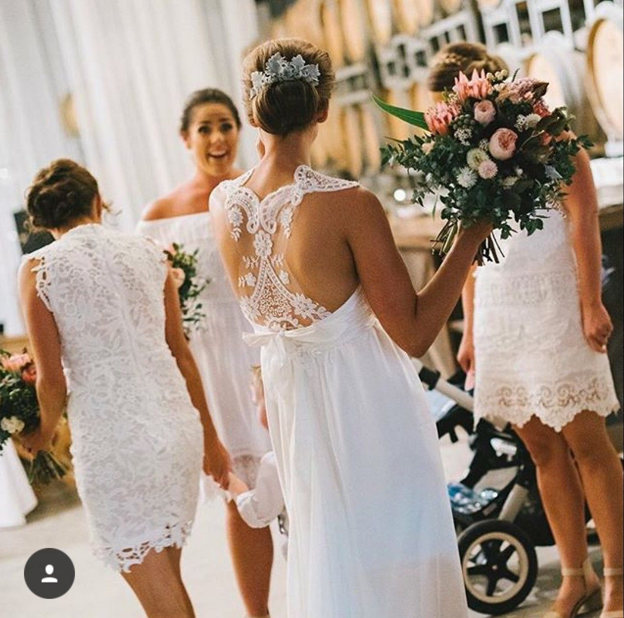 Pre owned wedding dresses  Anna Campbell Rebecca Size  Wedding Dress  Anna campbell