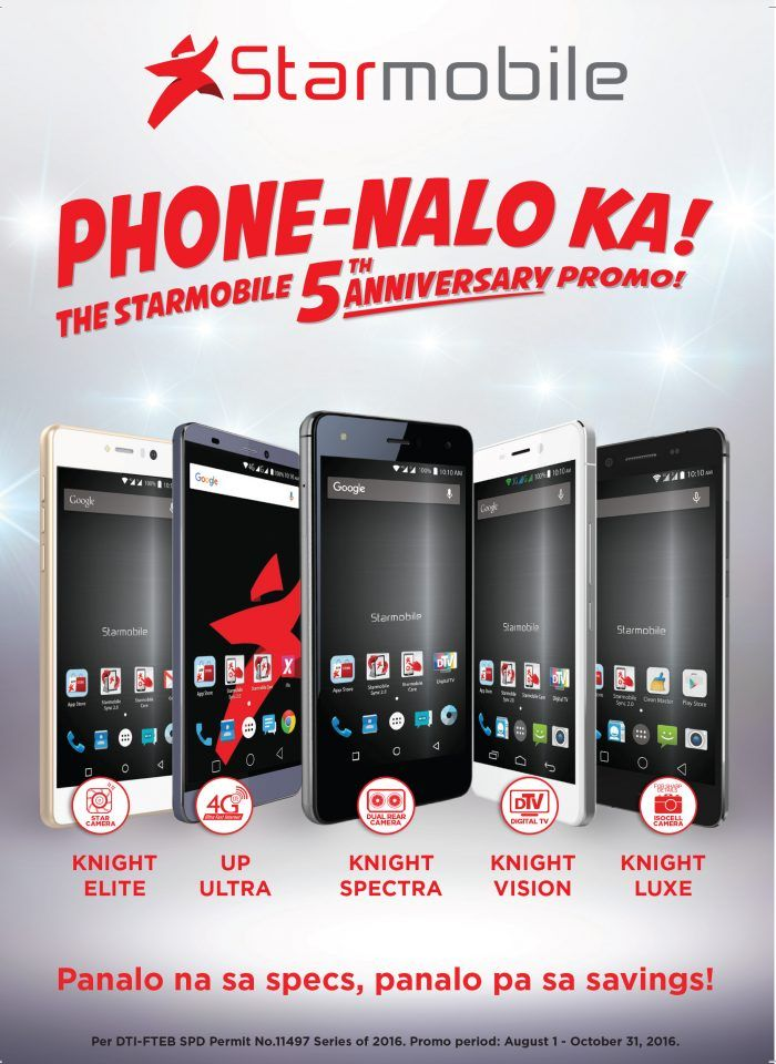 To celebrate its first 5 years in the market, Starmobile is putting ...