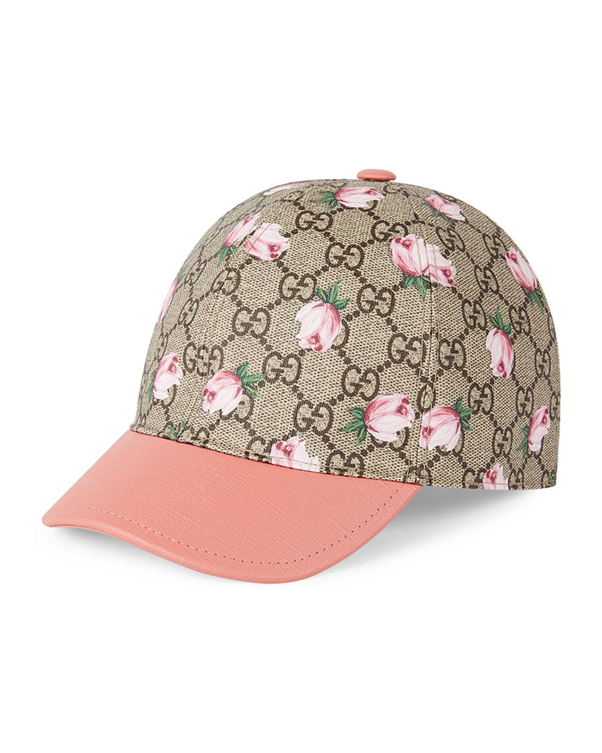 Gucci Girls  GG Rose Baseball Cap 121b898f08d