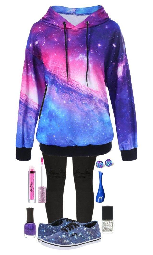 vans galaxy hoodie