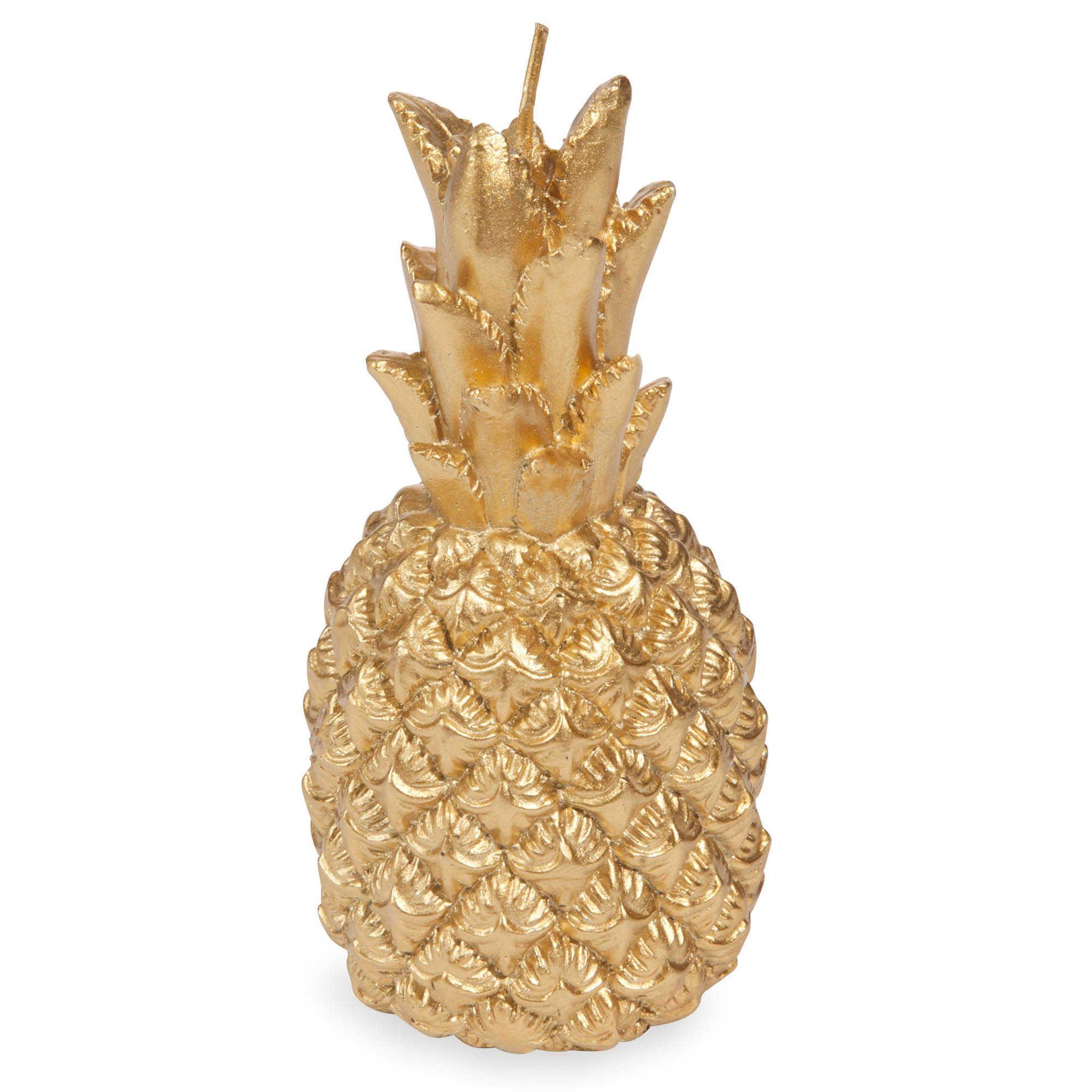 bougie ananas dor h 14 cm maisons du monde home sweet. Black Bedroom Furniture Sets. Home Design Ideas